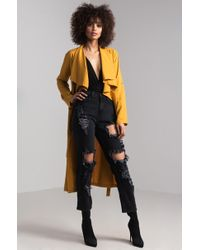 AKIRA - Your Trust Lightweight Trench Coat - Lyst