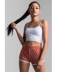 PAXTON - Brooke Shortie Shorts - Lyst