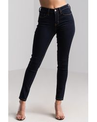AKIRA - Just For Me Mid Rise Skinny Jeans - Lyst