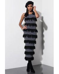 AKIRA - Pretty Lady Midi Dress - Lyst