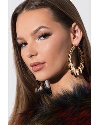 AKIRA - Prima Donna Hoop Earring - Lyst
