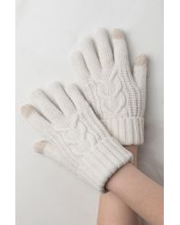 AKIRA - Hold My Hand Wool Gloves - Lyst