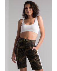 AKIRA - Good Company Cargo Shorts - Lyst