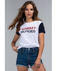 Tommy Hilfiger - Logo Tee - Lyst