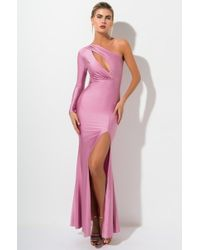 351487295fcc AKIRA Used To Be So Easy Strapless Mermaid Gown in Black - Lyst