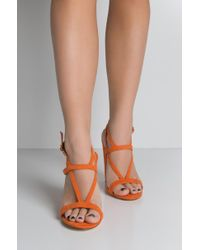 Unk - Match Made In Morocco Strappy Chy Heeled Sandals - Lyst