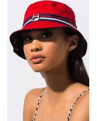 78047eba459 Fila - Unisex Reversible Bucket Hat - Lyst