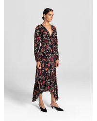 A.L.C. - Floral Layered Dress - Lyst