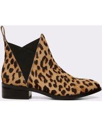 ALDO - Scotch Ponyhair Chelsea Boots - Lyst