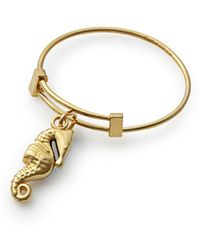 ALEX AND ANI - Seahorse Expandable Wire Ring - Lyst