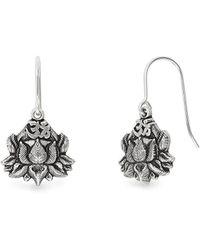 ALEX AND ANI - Lotus Peace Petals Hook Earrings - Lyst
