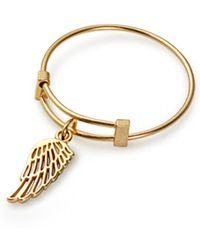 ALEX AND ANI - Wing Expandable Wire Ring - Lyst