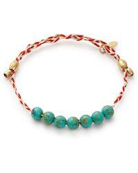 ALEX AND ANI - Turquoise Precious Threads Bracelet - Lyst