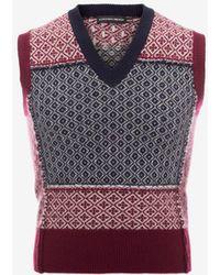 Alexander McQueen - Wool Vest - Lyst