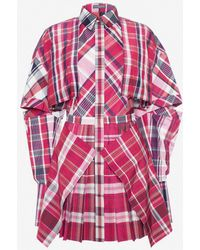 Alexander McQueen | Country Check Mini Dress | Lyst