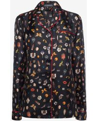 Alexander McQueen - Obsession Print Pyjamas - Lyst