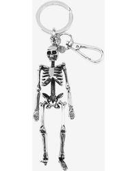 Alexander McQueen - Skeleton Key Ring - Lyst