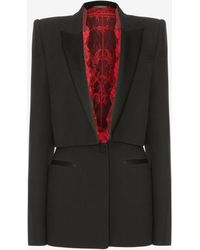Alexander McQueen - Sarabande Lace Box Jacket - Lyst