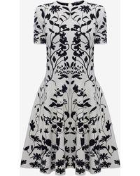 Alexander McQueen - Knitted Mini Dress - Lyst