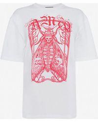 Alexander McQueen - Framed Moth T-shirt - Lyst