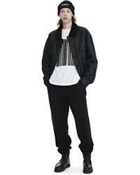 Alexander Wang - Long Sleeve Barcode Tee - Lyst