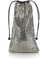 Alexander Wang - Ryan Dust Bag In Silver Stud Rhinestone - Lyst
