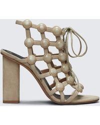 Alexander Wang   Rubie Lace Up Sandal   Lyst