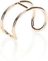 Alexander Wang - Pill Cuff Bracelet In Rose Gold - Lyst