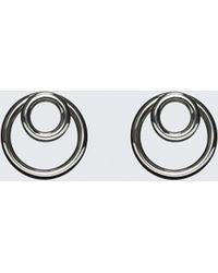 Alexander Wang - Double O-ring Earrings - Lyst