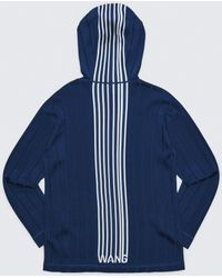 Alexander Wang Exclusive Hoodie Pullover With Barcode Logo