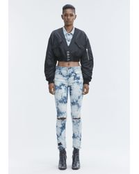 Alexander Wang - Whiplash Destroyed Jeans - Lyst