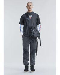 Alexander Wang - Athletic Short Sleeve Top - Lyst