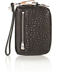 Alexander Wang - Large Fumo In Pebbled Black With Rose Gold - Lyst