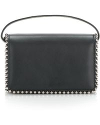 Alexander Wang - Attica Biker Purse In Black With Box Chain - Lyst