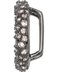 Alexis Bittar - Gunmetal Tone Pave Ring Slide You Might Also Like - Lyst