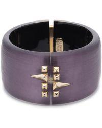 Alexis Bittar | Golden Studded Hinge Bracelet You Might Also Like | Lyst