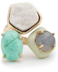Alexis Bittar - Druzy Stone Cluster Cocktail Ring You Might Also Like - Lyst