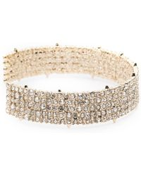 Alexis Bittar - Crystal Lace Cuff Bracelet You Might Also Like - Lyst