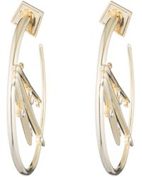 Alexis Bittar - Satellite Crystal Spike Hoop Earring You Might Also Like - Lyst