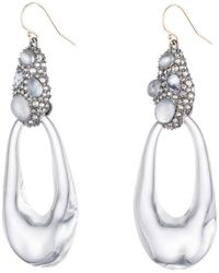 Alexis Bittar - Stone Cluster Link Earring - Lyst