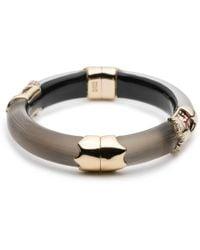 Alexis Bittar - Crystal Encrusted Glitter Segmented Hinge Bracelet - Lyst