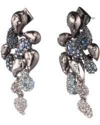 Alexis Bittar - Crystal Encrusted Ombre Paisley Post Earring - Lyst