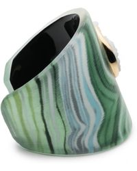 Alexis Bittar - Druzy Studded Agate Lucite Cuff Bracelet You Might Also Like - Lyst