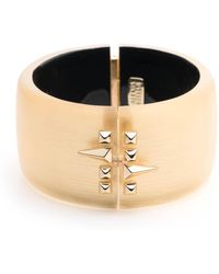 Alexis Bittar - Golden Studded Hinge Bracelet You Might Also Like - Lyst