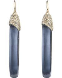 Alexis Bittar - Crystal Encrusted Oval Drop Wire Earring You Might Also Like - Lyst