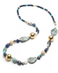 Alexis Bittar - Liquid Gold Sphere Strand Necklace You Might Also Like - Lyst