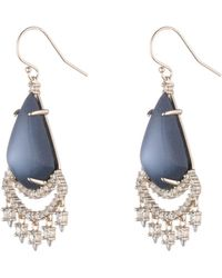 Alexis Bittar | Crystal Lace Chandelier Earring You Might Also Like | Lyst