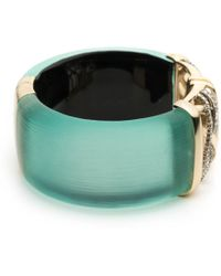 Alexis Bittar - Crystal Encrusted Plaid Hinge Bracelet You Might Also Like - Lyst