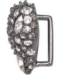 Alexis Bittar - Crystal Pave Heart Slide You Might Also Like - Lyst