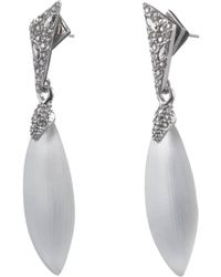 Alexis Bittar - Crystal Encrusted Dangling Post Earring - Lyst
